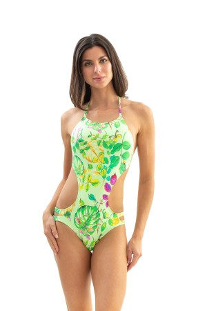 Body Tiras Floral Cítrico