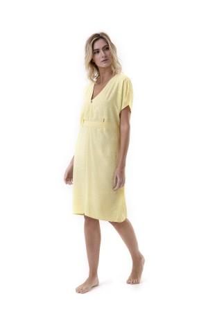 Vestido Estela Amarelo