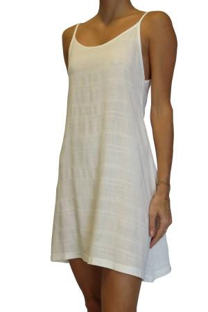 Vestido Alcinha Off White