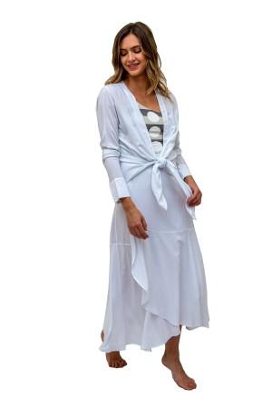 Camisa Aretha Branco