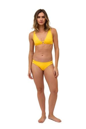 Calcinha Lateral Tiras Amarelo