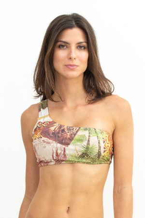 Busto Cropped Ombro Tribal