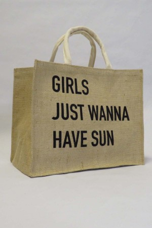 Bolsa Silk Girls Just Wanna Have Sun