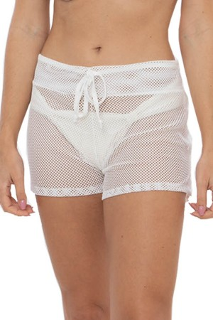 Short Tela Off White